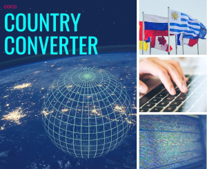 Country converter - icon